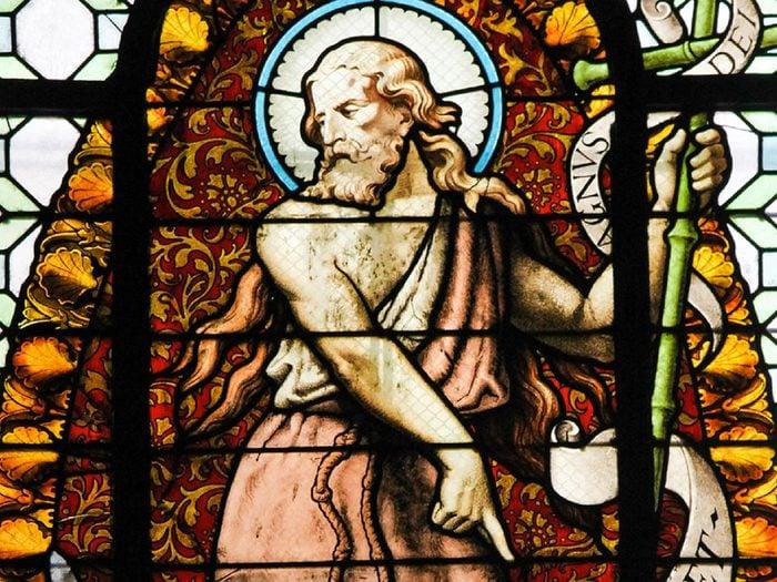 La ville de Kansas City, Missouri: le doigt de Saint-Jean-Baptiste.