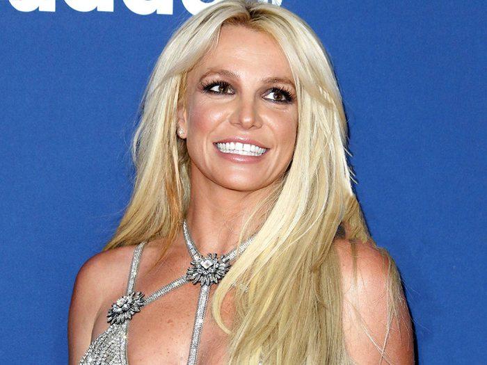 Dans la ville américaine de Kentwood, Louisiane: une exposition Britney Spears.