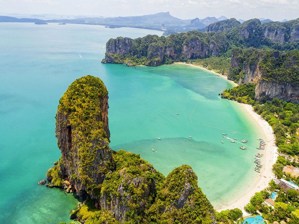 Krabi en Thaïlande est une province incontournable en Asie du Sud-Est.
