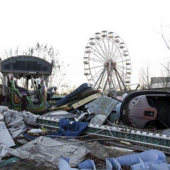 25 photos effrayantes de lieux abandonnés dans le monde