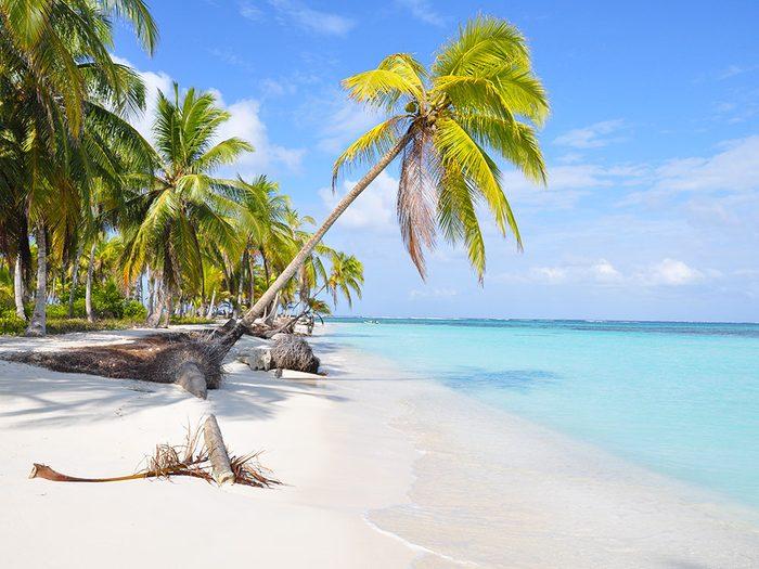 Les îles de San Blas au Panama est une des plus belles plages du monde.