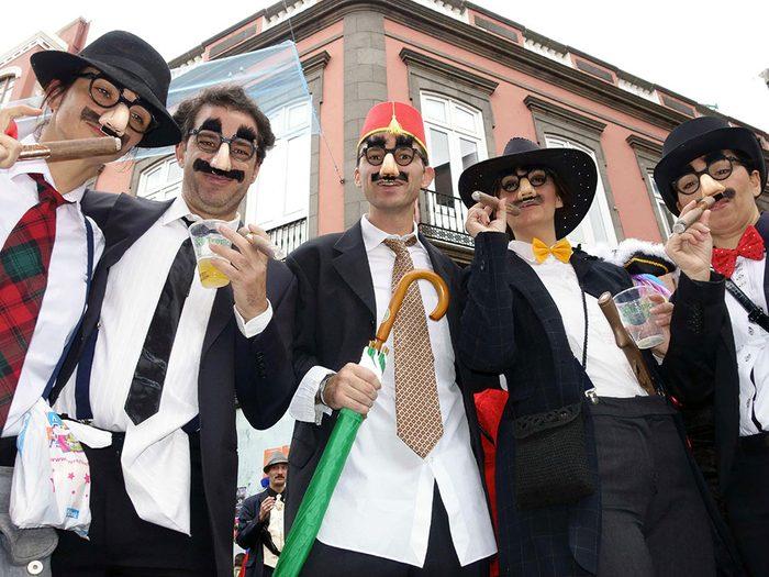 La ville de Pittsfield, New Hampshire: Groucho Marx.