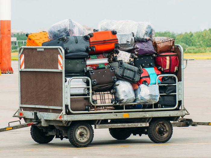 Ville américaine : Scottsboro, Alabama: la capitale mondiale des bagages perdus.