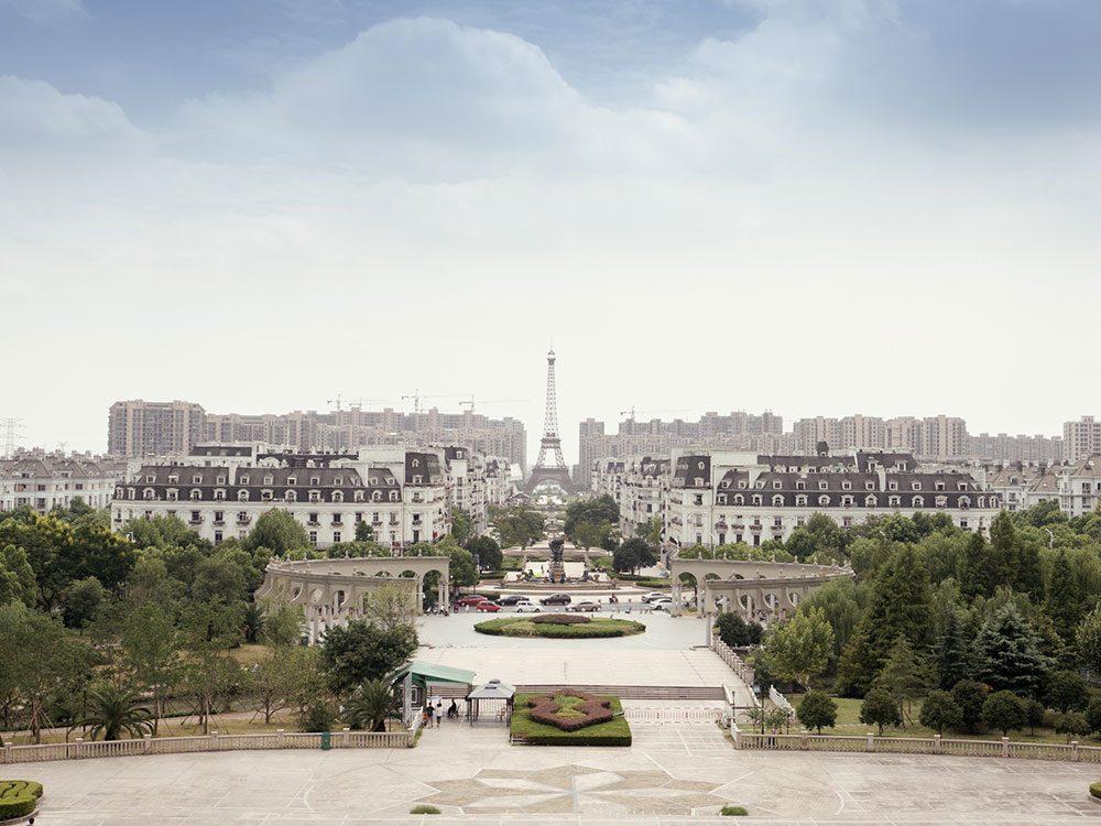 Le ville de Tiandu Cheng en Chine est l'un des lieux abandonnés dans le monde.