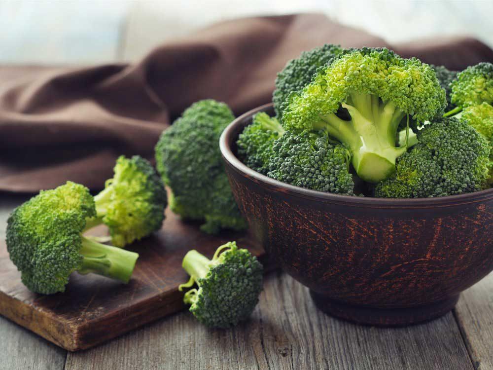 Le brocoli : un bon antioxydant.