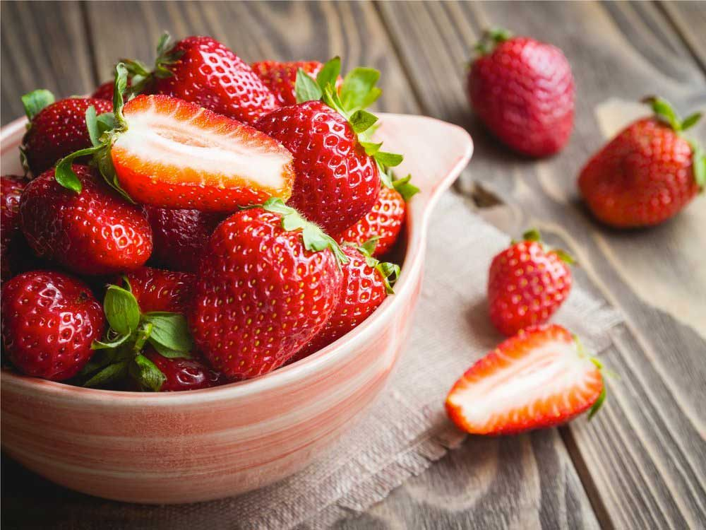 Les fraises : de bons antioxydants.