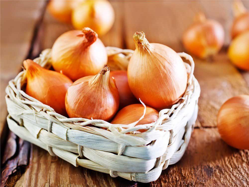Les oignons : de bons antioxydants.