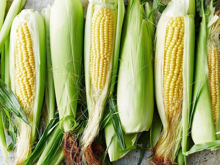 Le maïs fait partie des aliments riches en antioxydants.