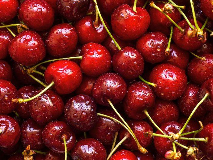 Les cerises font partie des aliments riches en antioxydants.
