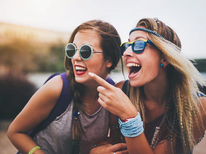 Traîner avec ses amis d'enfance est un signe que vous serez un bon parent.