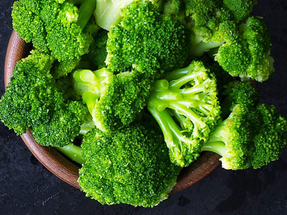 Le brocoli peut améliorer votre transit intestinal.