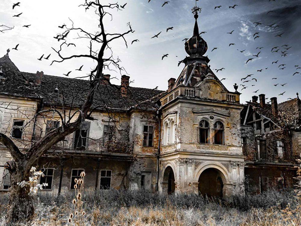 Ce palais de prince charmant fait partie des 50 maisons abandonnées qui ont besoin d'être restaurées.
