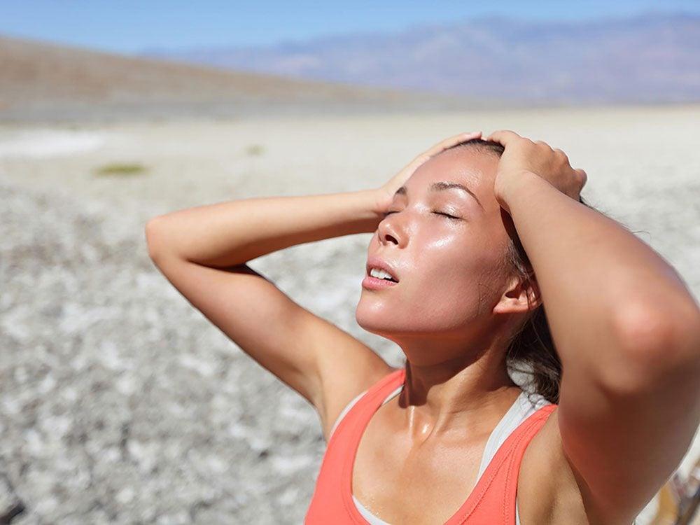 8 signes que vous courez le risque d'un coup de chaleur sans le savoir