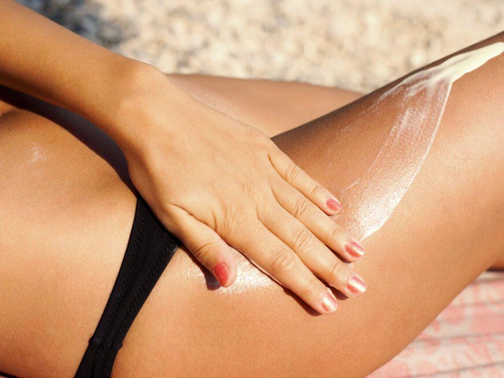 Mettez plus de crème, puis remettez-en encore pour lutter contre le cancer de la peau.