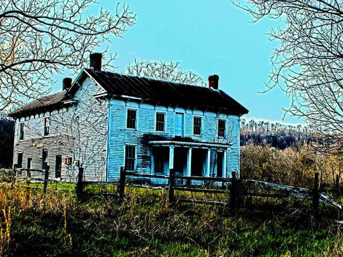 Cette ferme abandonnée dans l'Ohio aurait bien besoin d'être restaurée.
