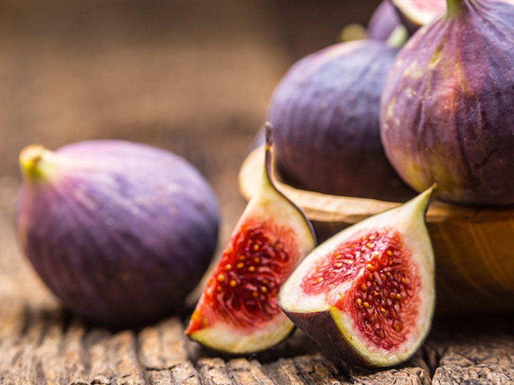 Manger des figues peut améliorer votre transit intestinal.