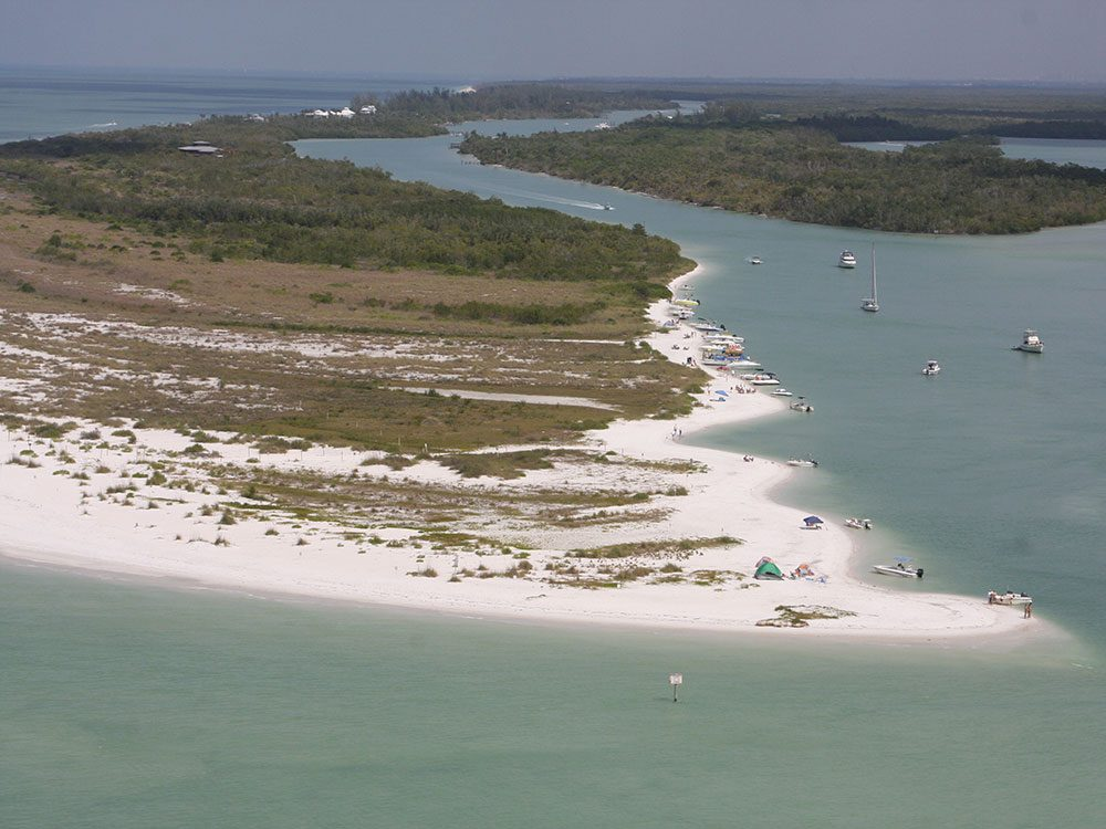 Keewaydin Island à Naples en Floride est une des plus belles plages du monde.