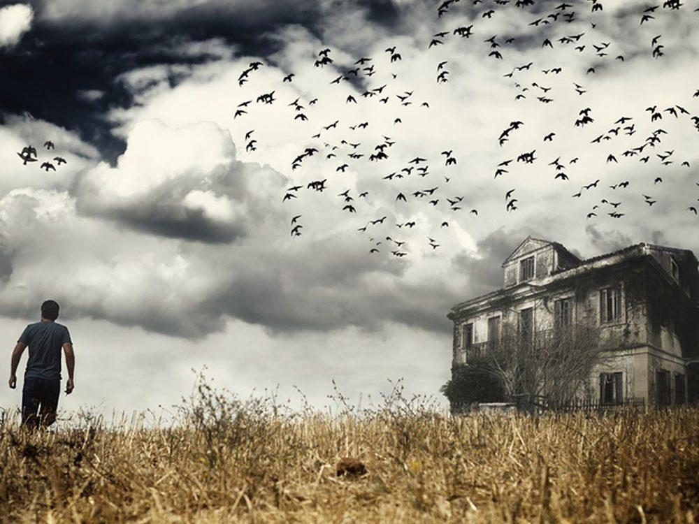Cette maison abandonnée est sans doute hantée !