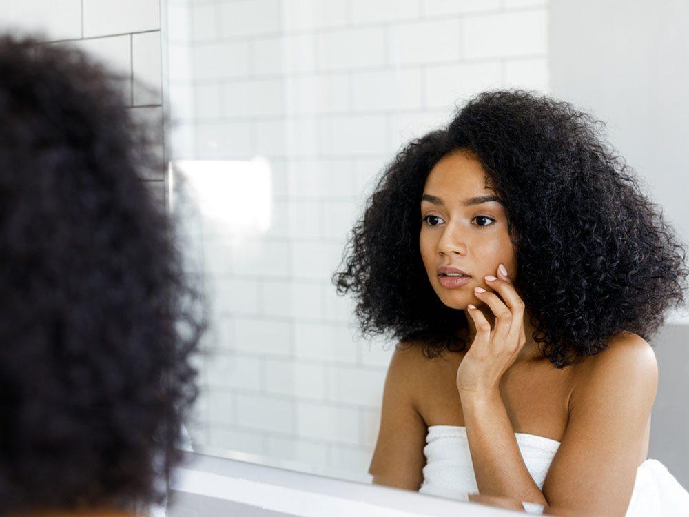 L'autoexamen est aussi valable pour détecter un cancer de la peau.