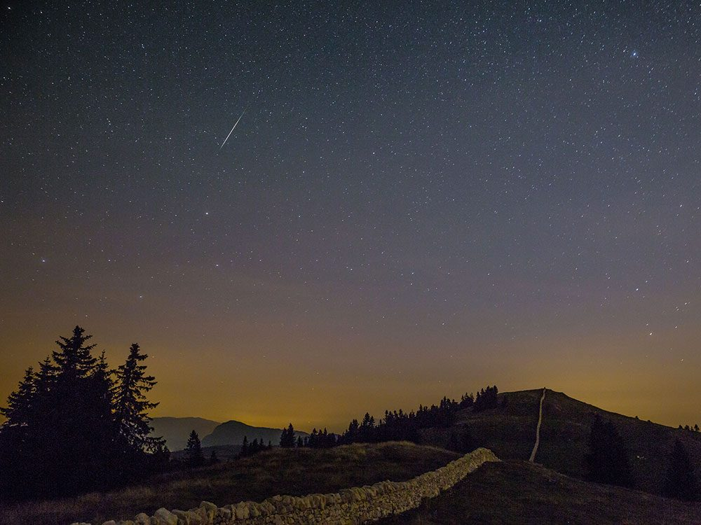 Il y a plus de météorites que ce qu'on pense : chaque étoile filante en est une.