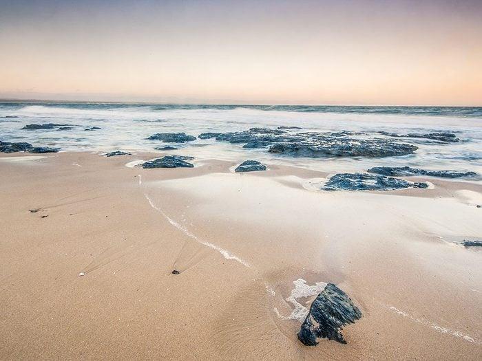 Jeffreys Bay en Afrique du Sud est une des plus belles plages du monde.