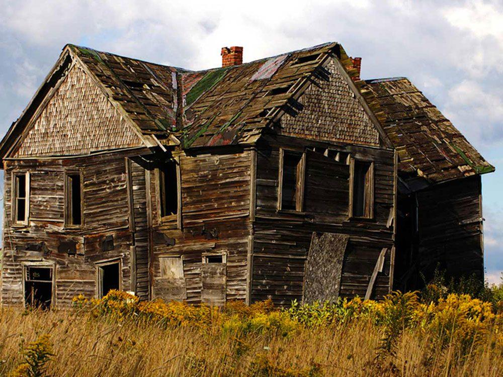 La petite maison dans la prairie aurait bien besoin d'être restaurée.