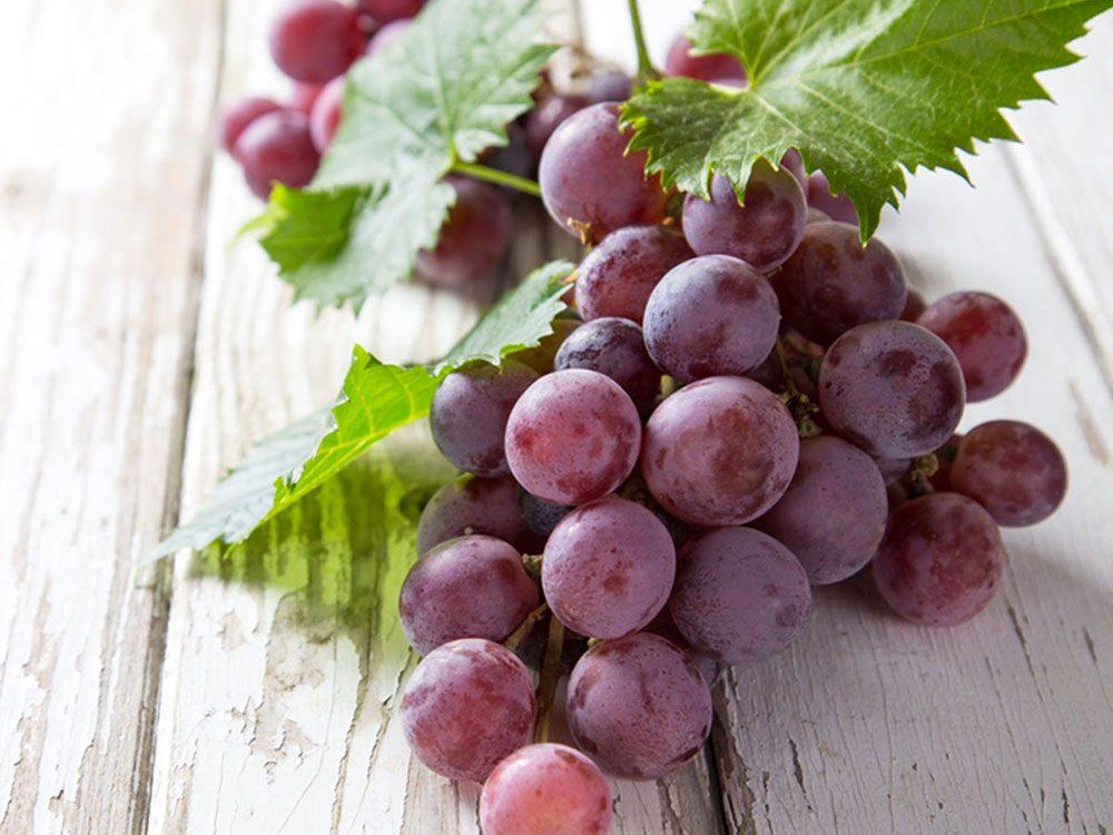 Le raisin peut améliorer votre transit intestinal.