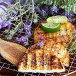 Halloumi miel et citron vert au barbecue