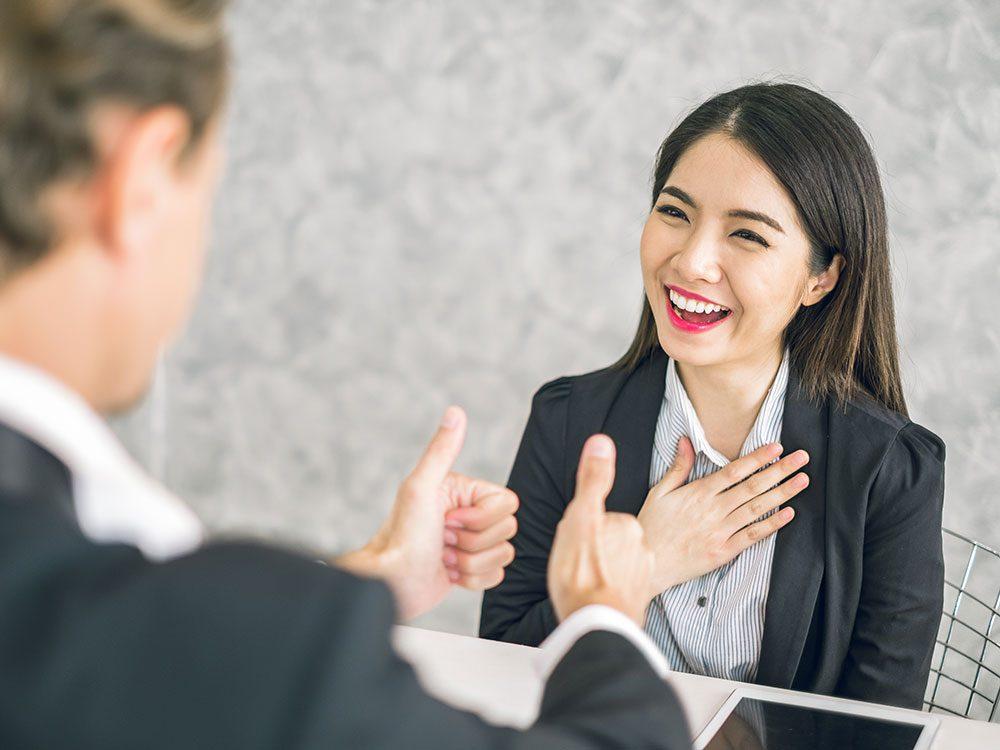 L'art du dialogue : manifestez votre reconnaissance.
