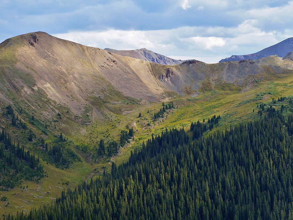 L'Independence Pass dans le Colorado est l'une des routes américaines incontournables.