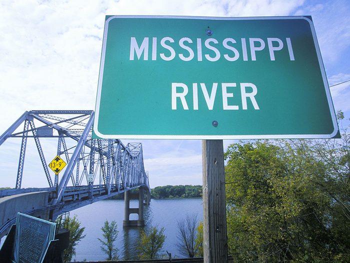Great River Road reliant le Minnesota à la Louisiane est une route américaine incontournable.