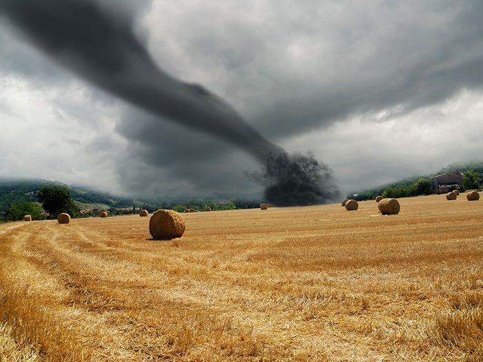Signification des rêves : Il y a une tornade.