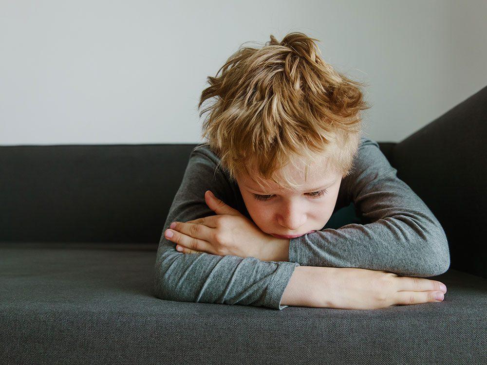 Signification des rêves : Vous avez perdu ou oublié votre enfant.
