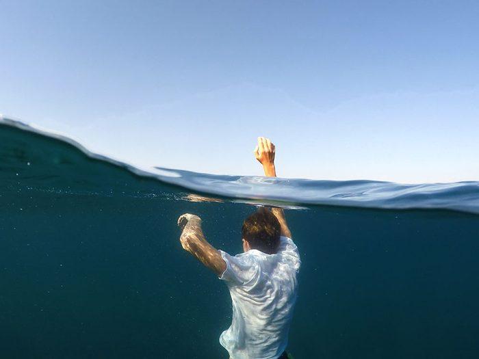 Signification des rêves : Vous vous noyez.
