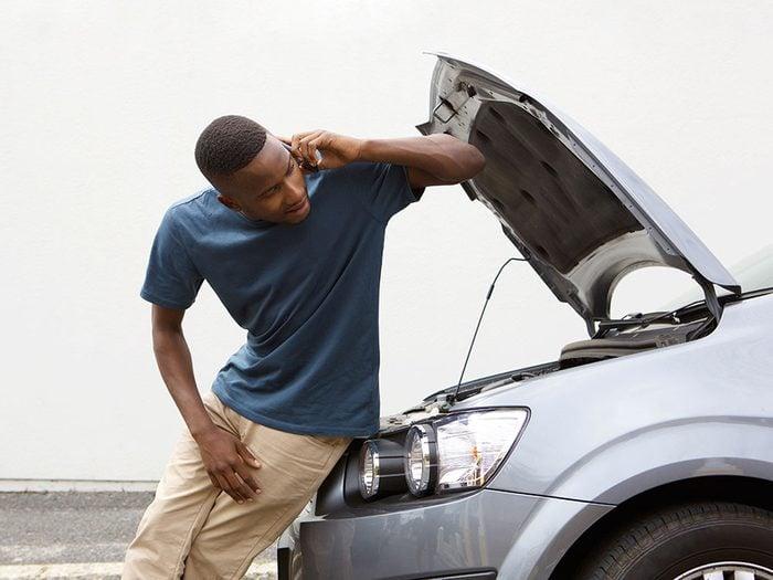 Signification des rêves : Votre voiture tombe en panne.