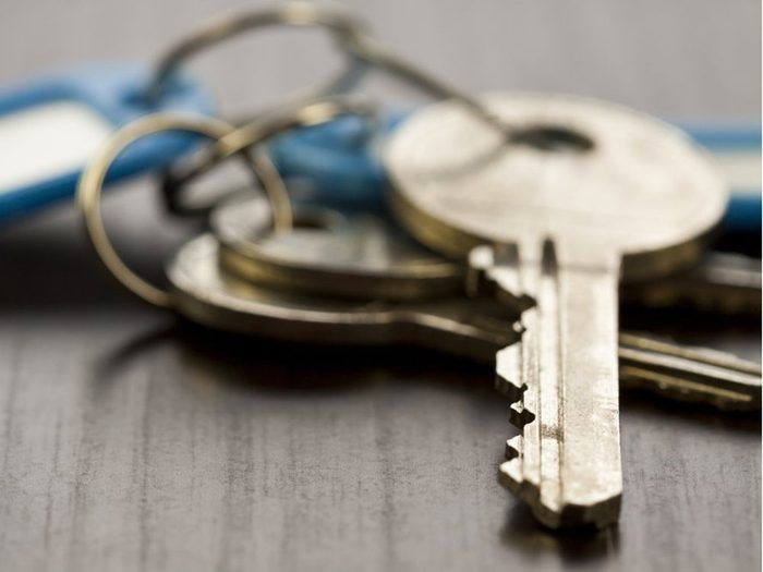 Survivre à une perte de clés à répétition