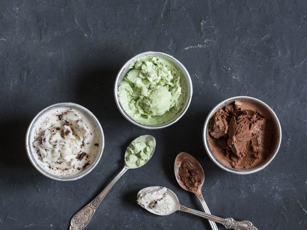 Survivre : crèmes glacées