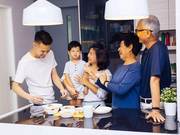 Survivre à une réunion de famille