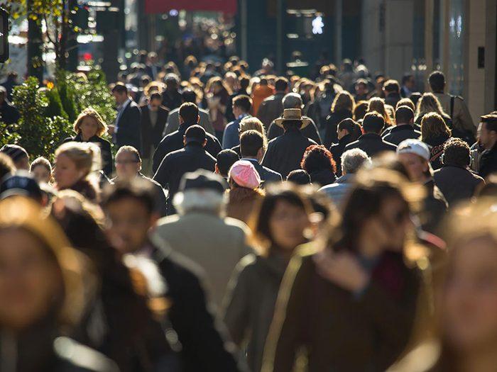 Survivre à un mouvement de foule