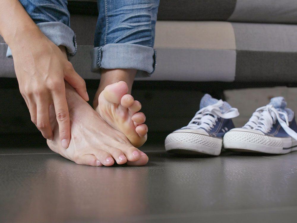 Survivre à un choc sur un orteil