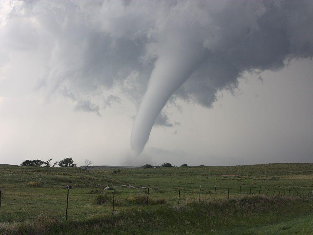 Survivre à une tornade