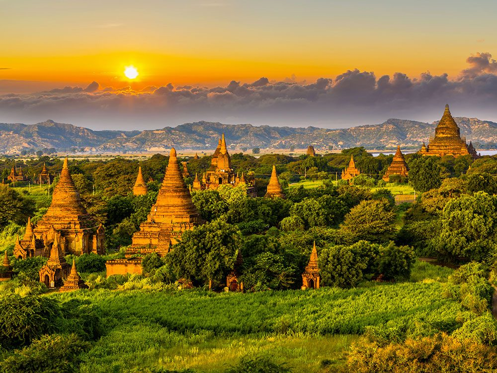 N'hésitez pas à visiter les temples de Bagan à Myanmar