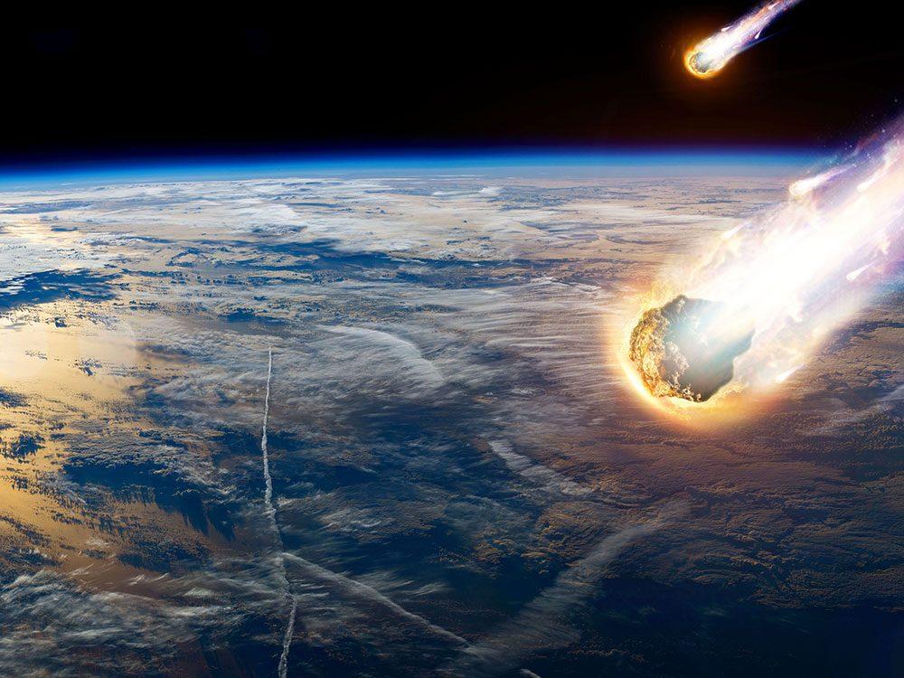 Pouvons-nous prévoir l'impact d'une météorite?