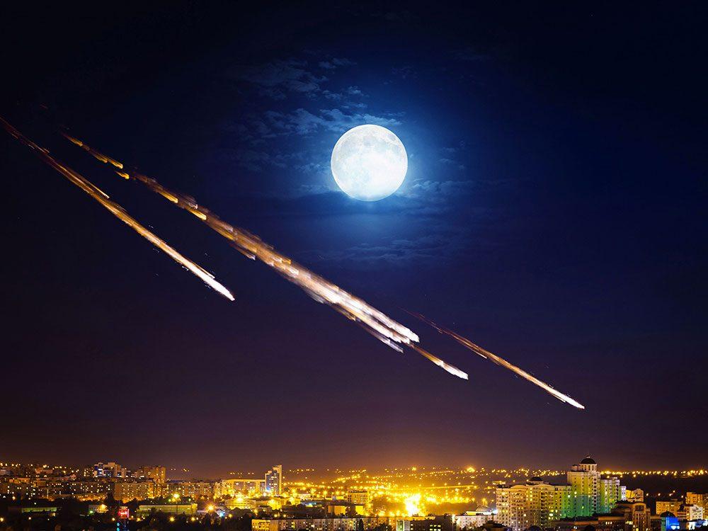 Quelles seraient les conséquences d'un impact de météorite pour la Terre et pour nous ?