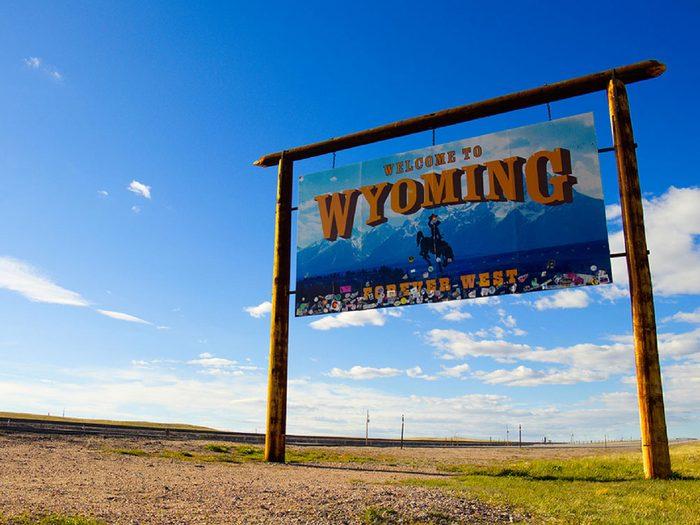 Parmi les villes américaines, Buford dans le Wyoming: la plus petite ville des États-Unis.