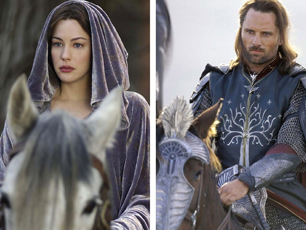 Dans le Seigneur des anneaux, Arwen et Aragorn ont un lien de parenté.