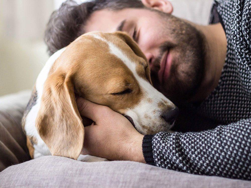 Un chien a le droit d'être aimé et adopter même s'il est vieux.