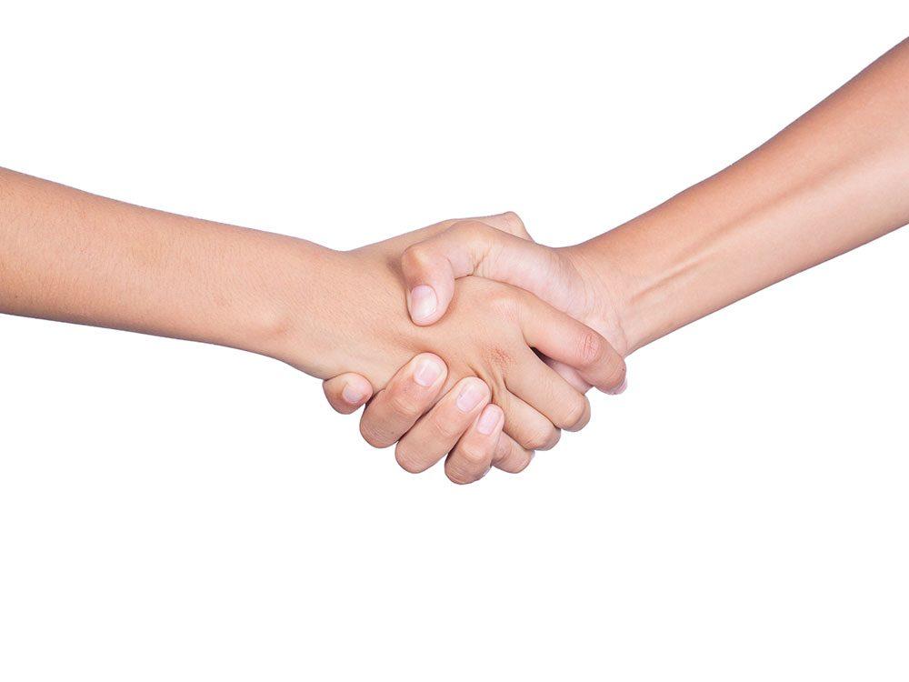 Premier contact entre la victime d'agression sexuelle et l'infirmière.