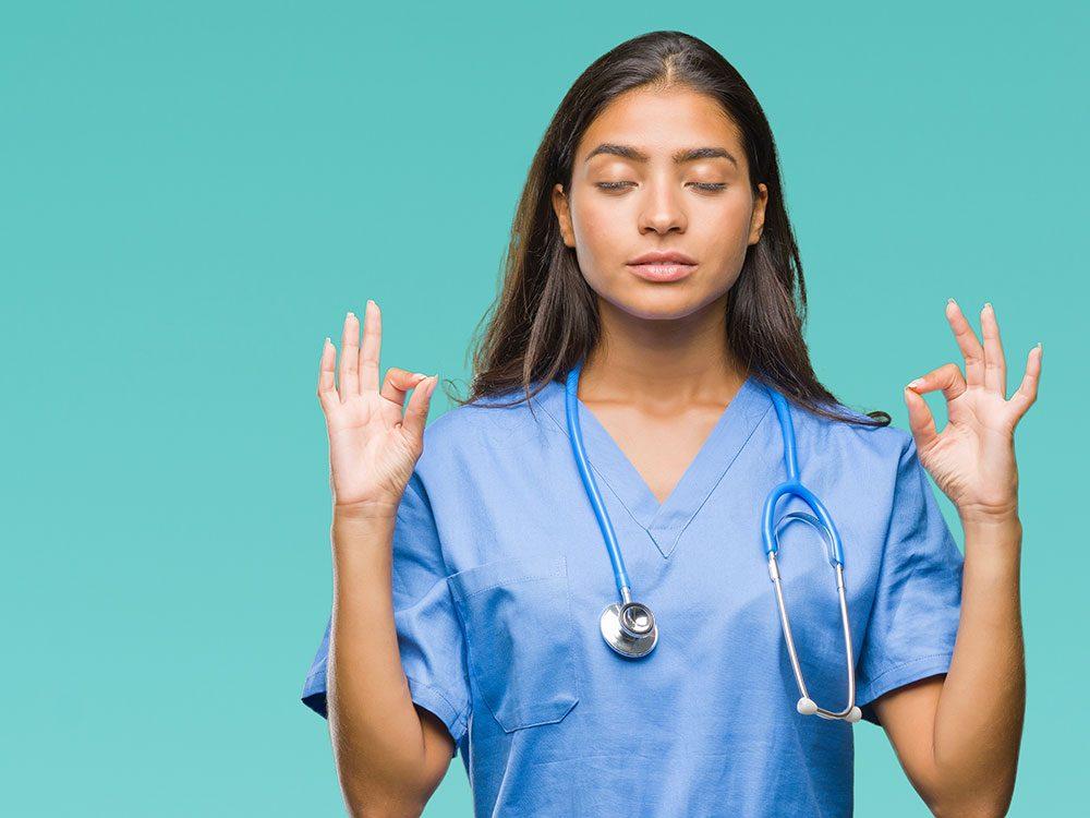 Les infirmières doivent bien se préparer face aux victimes d'agressions sexuelles.