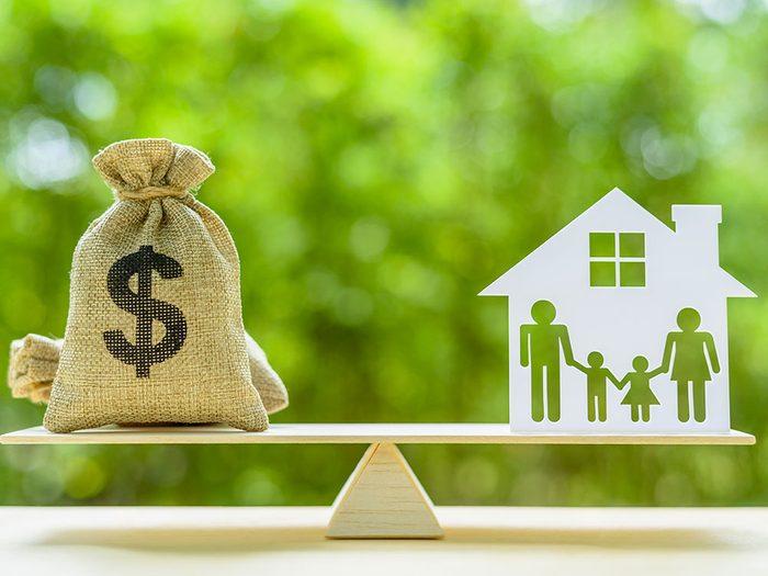 Vous pouvez réduire la prime de votre assurance habitation.
